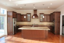 Natural Stained Cabinets