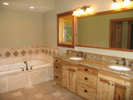 Natural Hickory Vanities
