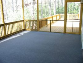 Screen Porch W/Outdoor Carpet