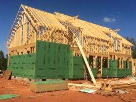 Starting to build dormers