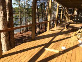 Installing composite railing