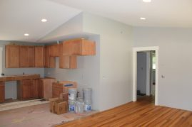 New Stain Kitchen Cabinets